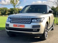 USED 2013 13 LAND ROVER RANGE ROVER 4.4 SDV8 VOGUE SE AUTO 339 BHP 5DR ESTATE PAN ROOF*REVERSE CAM*SOFTCLOSE