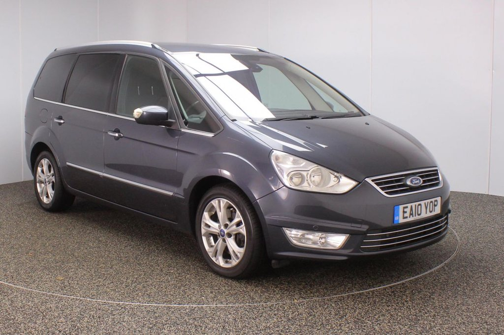 USED 2010 10 FORD GALAXY 2.0 TITANIUM X 5DR 201 BHP 7 SEATS 7 SEATS + SATELLITE NAVIGATION + REVERSE CAMERA + ANDROID AUTO + PARKING SENSOR + BLUETOOTH + CRUISE CONTROL + CLIMATE CONTROL + MULTI FUNCTION WHEEL + PRIVACY GLASS + ELECTRIC WINDOWS + ELECTRIC MIRRORS + 17 INCH ALLOY WHEELS