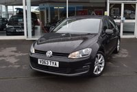 USED 2013 63 VOLKSWAGEN GOLF 2.0 GT TDI BLUEMOTION TECHNOLOGY 5d 148 BHP FINANCE TODAY WITH NO DEPOSIT