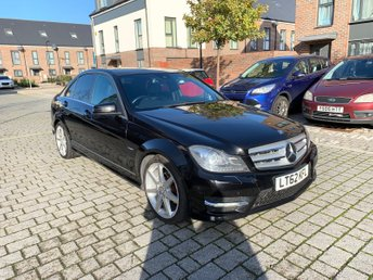 2012 MERCEDES-BENZ C-CLASS 2.1L C250 CDI BLUEEFFICIENCY SPORT 4d AUTO 202 BHP £9495.00
