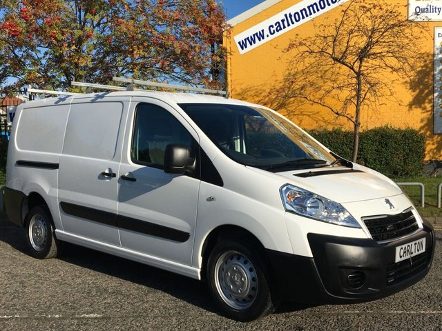 2014 14 PEUGEOT EXPERT 1.6 HDI 1200 L2H1 90 LWB TWIN SIDE DOOR