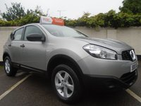 USED 2010 10 NISSAN QASHQAI 1.6 VISIA 5d 113 BHP GUARANTEED TO BEAT ANY 'WE BUY ANY CAR' VALUATION ON YOUR PART EXCHANGE