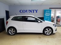USED 2013 13 VOLKSWAGEN POLO 1.2 R-LINE STYLE AC 3d 60 BHP * TWO OWNERS WITH HISTORY *