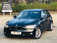 USED 2011 61 BMW 1 SERIES 2.0 116D SE 5d 114 BHP Front / rear parking sensors
