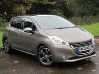 USED 2013 PEUGEOT 208 1.2 VTi Intuitive 5dr SATELLITE NAVIGATION, PANORAMIC GLASS ROOF