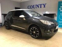 USED 2015 15 CITROEN DS3 1.2 PURETECH DSTYLE PLUS S/S 3d 109 BHP * TWO OWNERS * FULL HISTORY *