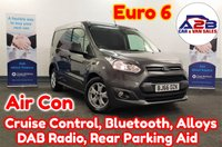 2016 FORD TRANSIT CONNECT 1.5 TDCI Euro 6 200 LIMITED 120 BHP In Magnetic Grey Metallic with Air Conditioning, Bluetooth, Cruise Control, DAB Radio, Rear Parking Sensors, Alloy Wheels and much more £10680.00