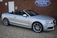 USED 2011 11 AUDI A5 CABRIOLET 2.0 TFSI S line Cabriolet S Tronic quattro 2dr 208 BHP
