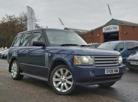 USED 2008 08 LAND ROVER RANGE ROVER 3.6 TDV8 VOGUE 5d 272 BHP NAVIGATION SYSTEM *  20 INCH ALLOYS *  LEATHER *  HEATED SEATS *  SUNROOF *  PARKING AID *