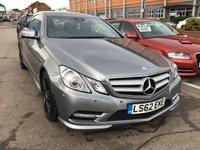 2012 MERCEDES-BENZ E CLASS 2.1 E220 CDI BLUEEFFICIENCY SPORT 2d AUTO 170 BHP £9995.00