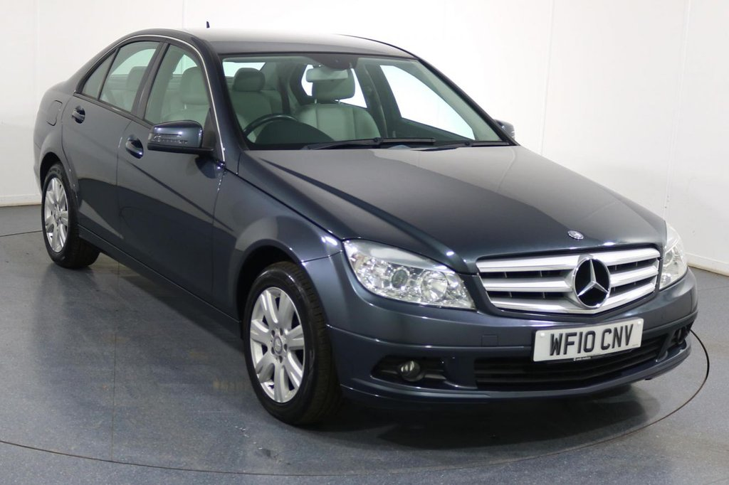 USED 2010 10 MERCEDES-BENZ C CLASS 1.6 C180 K BLUEEFFICIENCY EXECUTIVE SE 4d 156 BHP Demo and 2 OWNERS with 8 Stamp SERVICE HISTORY