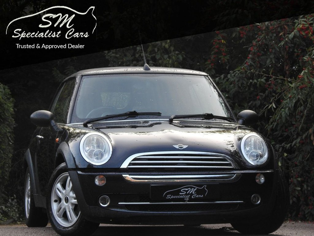 USED 2006 56 MINI CONVERTIBLE 1.6 ONE 2d 89 BHP ONLY 85K FROM NEW DRIVES GREAT