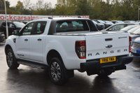 USED 2016 16 FORD RANGER 3.2 TDCi Wildtrak Double Cab Pickup Auto 4WD 4dr ONE OWNER*TOW BAR*ROLLER LID