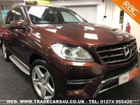USED 2013 13 MERCEDES-BENZ M CLASS ML350 CDI 4MATIC 7G-TRONIC PLUS AMG SPORT UK DELIVERY* RAC APPROVED* FINANCE ARRANGED* PART EX