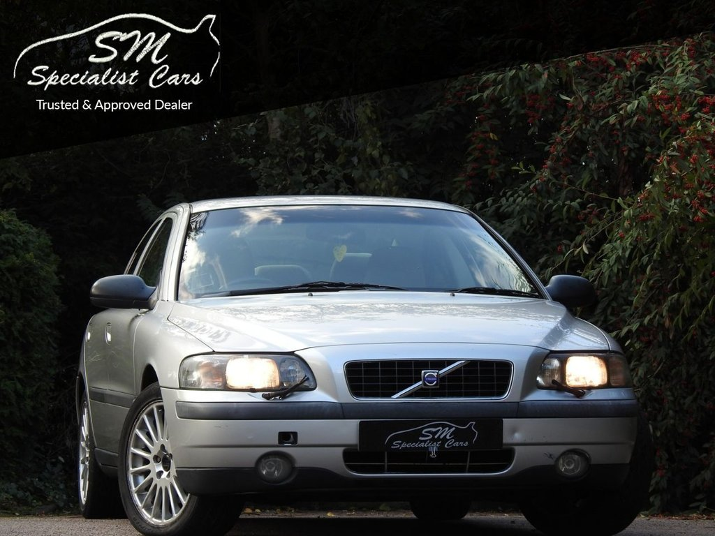 USED 2002 02 VOLVO S60 2.4 SE T 4d 198 BHP P/X TO CLEAR DRIVES SUPERB
