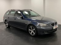 USED 2007 57 BMW 5 SERIES 2.0 520D SE TOURING 5d 161 BHP 13 SERVICES + UPGRADED WHEELS + NICE CLEAN PART EX TO CLEAR