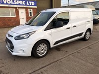 USED 2015 65 FORD TRANSIT CONNECT 1.6 240 TREND L2 LWB 95 BHP 3 SEATS