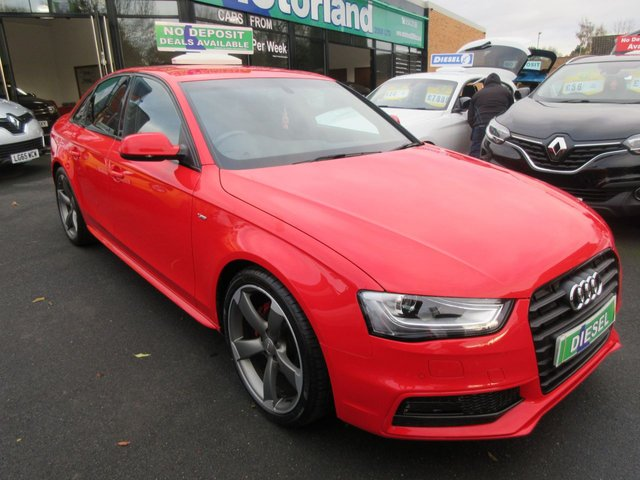 USED 2014 64 AUDI A4 2.0 TDI BLACK EDITION 4d 174 BHP ***AMAZING SPECIFICATION....TEST DRIVE TODAY***