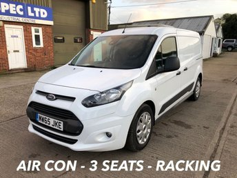 2015 FORD TRANSIT CONNECT 1.6 240 TREND L2 LWB 95 BHP 3 SEATS £6250.00