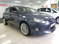 USED 2014 14 FORD FOCUS 2.0 ZETEC S TDCI 5d+FACTORY EXTRIOR BODYKIT+SAT NAV+ALLOYS+BLUETOOTH+FULL SERVICE HISTORY+