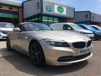 USED 2009 59 BMW Z4 2.5 Z4 SDRIVE23I ROADSTER 2d 201 BHP ONLY 72,000 MILES, A/C, ALLOYS, 6 MONTHS WARRANTY & FINANCE ARRANGED. Service History Printout and Invoices - Last service an Oil and Filter Change on 20.08.2019 @ 72,547 miles, Hard Top Convertible - Electric, Facelift Model, Air conditioning, Front & rear Parking Sensors, CD player, Smoked Alloy Wheels, Power steering, remote central locking, Alarm, Electric Windows, Electric Mirrors, 6 Speed Manual with Sports Drive Mode, spare key, 6 months warranty & finance arranged
