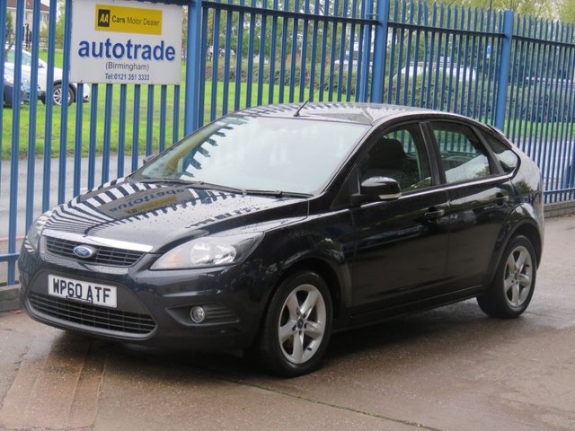 USED 2010 60 FORD FOCUS 1.6 ZETEC 5dr Air con Heated screen Alloys Finance arranged Part exchange available Open 7 days