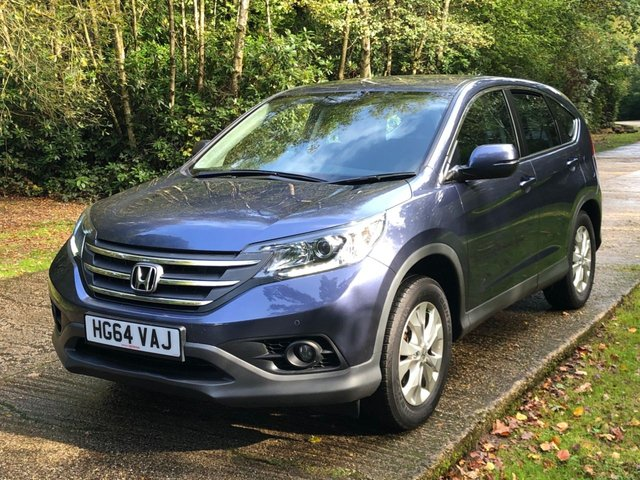USED 2015 64 HONDA CR-V 1.6 I-DTEC SE 5d 118 BHP LOW MILEAGE FINANCE ME TODAY-PX & UK DELIVERY POSSIBLE