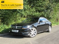 USED 2015 15 MERCEDES-BENZ C CLASS 1.6 C180 AMG SPORT EDITION 2d AUTO 154 BHP