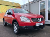 USED 2008 08 NISSAN QASHQAI 1.6 VISIA 5d 113 BHP EXCELLENT CONDITION + GREAT HISTORY