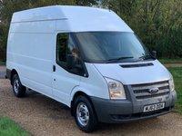 2013 FORD TRANSIT 2.2 350 H/R 124 BHP £7990.00