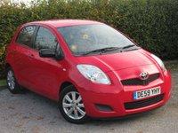 USED 2009 59 TOYOTA YARIS 1.3 TR VVT-I 5d * IDEAL FIRST CAR *