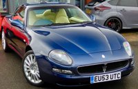 USED 2003 MASERATI COUPE 4200 4.2 V8 COUPE GT 2d 385 BHP