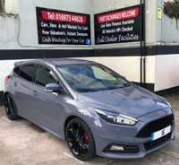 USED 2016 16 FORD FOCUS ST-3 2.0 TDCI 5DR 185 BHP, SAT NAV, BLACK STYLE PACK £20 ROAD TAX, FSH & HEATED LEATHER RECAROS