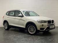 USED 2015 15 BMW X3 2.0 XDRIVE20D SE 5d 188 BHP 1 OWNER + 4 BMW SERVICES + FULL HEATED LEATHER + SAT NAV