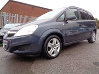 USED 2008 58 VAUXHALL ZAFIRA 1.8 EXCLUSIV 5d 140 BHP ONE FORMER KEEPER