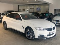 USED 2015 15 BMW 4 SERIES GRAN COUPE 3.0 435D XDRIVE M SPORT GRAN COUPE 4d 309 BHP BM PERFORMANCE STYLING+PLUS PK