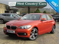 USED 2016 16 BMW 1 SERIES 1.5 116D SPORT 5d 114 BHP 1 Private Lady Owner From New