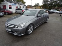 2011 MERCEDES-BENZ E-CLASS 3.0 E350 CDI BLUEEFFICIENCY SPORT 2d 231 BHP £8495.00