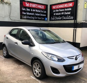 2012 MAZDA 2 1.3 TS 5DR 75 BHP, ONLY £30 ROAD TAX. £2495.00