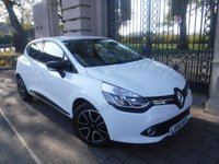 USED 2016 66 RENAULT CLIO 1.2 DYNAMIQUE NAV 16V 5d 73 BHP *FINANCE ARRANGED*PART EXCHANGE WELCOME*1 OWNER*CRUISE*NAV*BTOOTH*A/C*SERVICE HISTORY*AUTO LIGHTS & WIPER