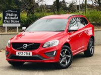 USED 2015 VOLVO XC60 2.0 D4 R-DESIGN 5d 188 BHP Heated seats, Rear park sensor