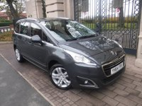 USED 2014 64 PEUGEOT 5008 1.6 HDI ACTIVE 5d 115 BHP *FINANCE ARRANGED*PART EXCHANGE WELCOME*7 SEATS*REAR PS*CRUISE*AC*SERVICE HISTORY*CD PLAYER*AUX*2KEY