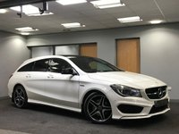 USED 2015 65 MERCEDES-BENZ CLA 2.1 CLA220 CDI AMG SPORT 5d AUTO 174 BHP extremely low mileage, excellent condition