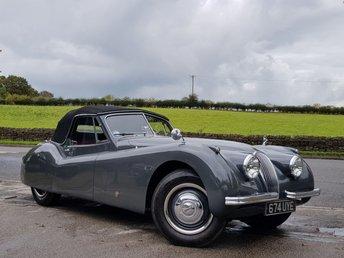 1953 JAGUAR XK 120 3.4 Drophead Coupe £85990.00