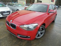 USED 2013 BMW 1 SERIES 2.0 116D SPORT 5d 114 BHP Superb Condition, FSH, No Deposit Needed, Part Exchange Welcomed