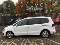 USED 2016 66 SEAT ALHAMBRA 2.0 TDI SE LUX 5d 150 BHP STUNNING PURE WHITE PAINTWORK WITH FULL BLACK LEATHER UPHOLSTERY. ONLY ONE OWNER. SATELLITE NAVIGATION. GLASS PANORAMIC ROOF. SEVEN SEATER. HEATED SEATS. PARKING SENSORS. DAB USB BLUETOOTH. REAR CAMERA. PLEASE GOTO www.lowcostmotorcompany.co.uk TO VIEW OVER 120 CARS IN STOCK.