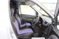 USED 2011 11 FIAT DOBLO 1.2 16V MULTIJET 90 BHP DIESEL SILVER EXCELLENT CONDITION
