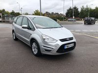 USED 2013 63 FORD S-MAX 2.0 ZETEC TDCI 5d 138 BHP LOW MILES/ONLY 2 OWNERS