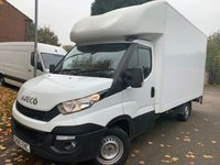 2015 IVECO DAILY 2.3 35S13 126 BHP LUTON WITH TAIL LIFT CLIMATE A/C ETC !!!!! £11950.00