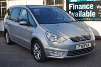 USED 2011 11 FORD GALAXY 1.6 TITANIUM X 5d 160 BHP 7 Seats, Full Leather, Twin Panoramic roofs, DAB Radio